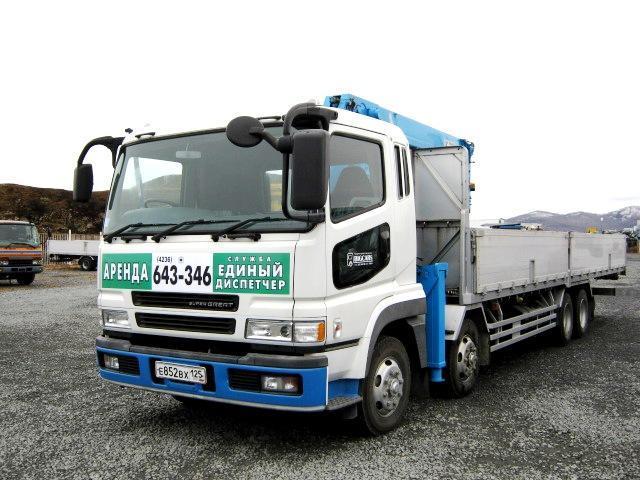 Аренда грузового автомобиля с краном